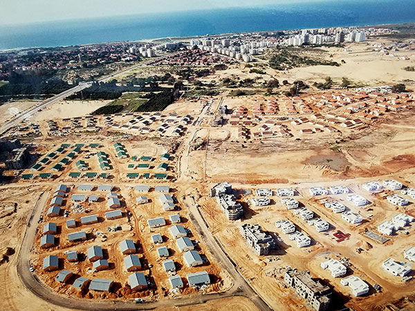 Framing Project in Ashkelon, Israel